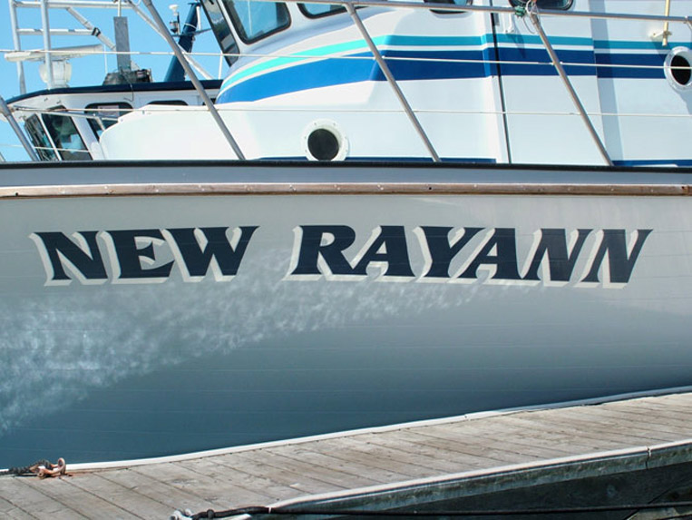 new rayann at the sausalito dock